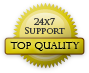 StartLogic offers top quality 24x7 customer support.